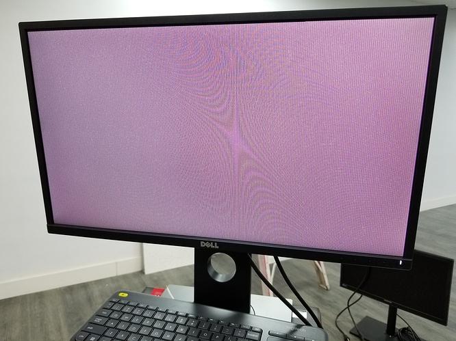 PEG_16x_slot_blank_screen